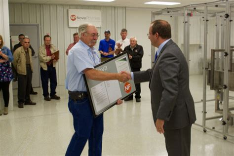 bureau workers comp vreeland receives grant certificate from ohio