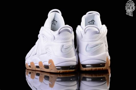 Sepatu Basket Air More Up Tempo White Gold nike air more uptempo og retro white gum scottie pippen