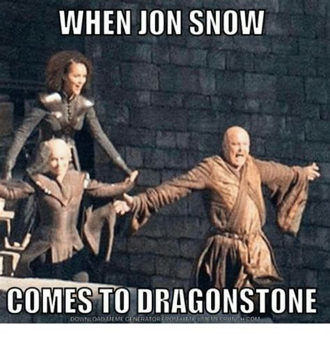 Meme Generatore - 24 jon snow memes that will convince you that he knows