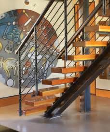Industrial Stairs Design Stair Detail Industrial Staircase Seattle By Dan Nelson Designs Northwest Architects