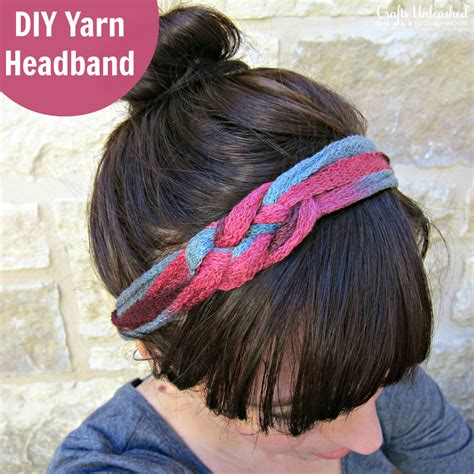 diy yarn crafts diy headband tutorial made with ruffle yarn