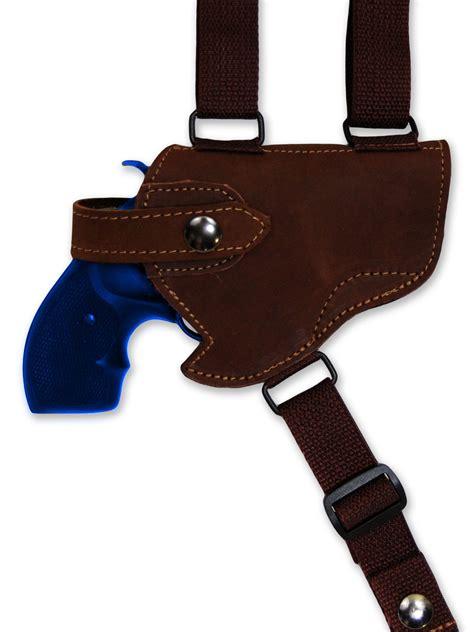leather gun holster new barsony brown leather horizontal gun shoulder holster