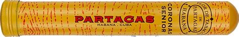 Partagas Coronas Senior Tubos Box Of 25 Cigar Cerutu partagas coronas senior review cigar analysis
