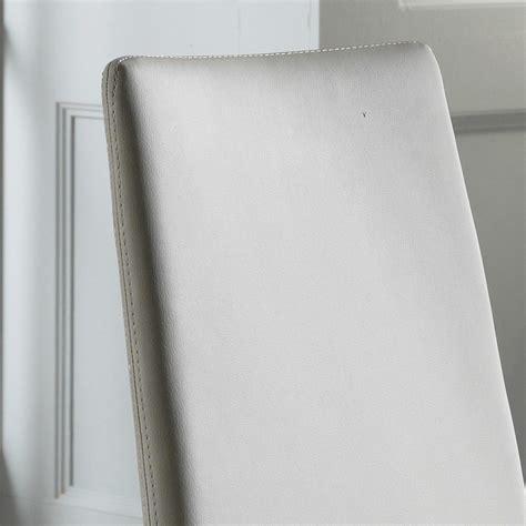 sedie bianche ecopelle set 4 sedie moderne in ecopelle bianche grigie o tortora