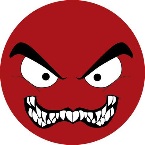 emoji red evil  vector graphic  pixabay