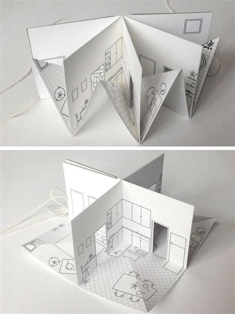 Folded Paper House - best 20 paper houses ideas on house template