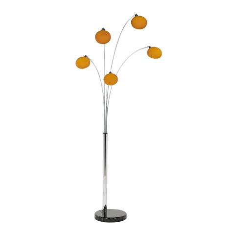 five light floor l shades buy orange lounge 5 modern floor l