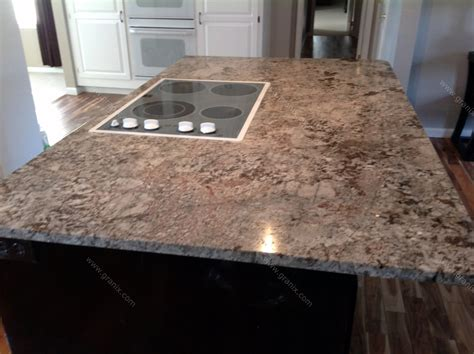 Grantie Countertops by Julie C Bianco Antico Granite Kitchen Countertop Granix
