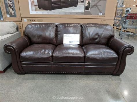 simon li leather sofa costco simon li leather sofa