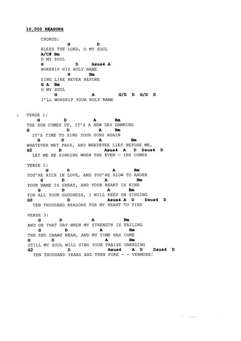 Fine Bless The Lord Chords Inspiration - Beginner Guitar Piano ...