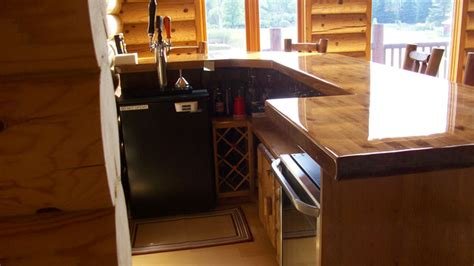 reddit basement living room keg tap custom kitchen cabinets and bar rustic basement minneapolis by viking log furniture
