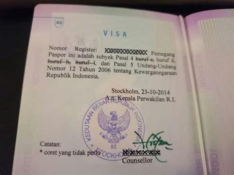paspor indonesia desain baru mengurus paspor si kecil bebenyabubu