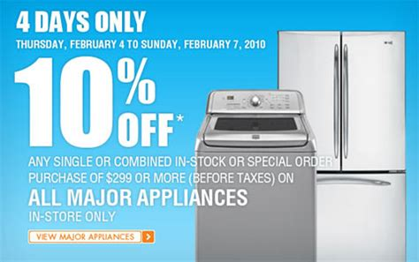 appliance repair home depot appliances repair