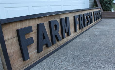 exterior sign paint vintage signs from pallets or barn wood on the cheap