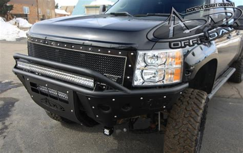 chevy 2500 3500 hd stealth front bumper add offroad