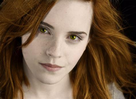 emma watson twilight emma watson as renesmee harry potter vs twilight photo