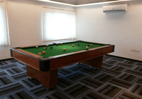 american box type pool tables