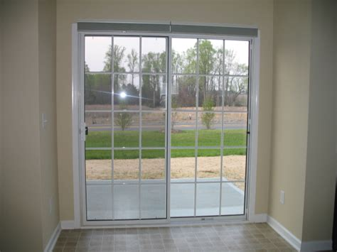 Shades For Sliding Patio Doors by Sliding Doors With Cell Shades