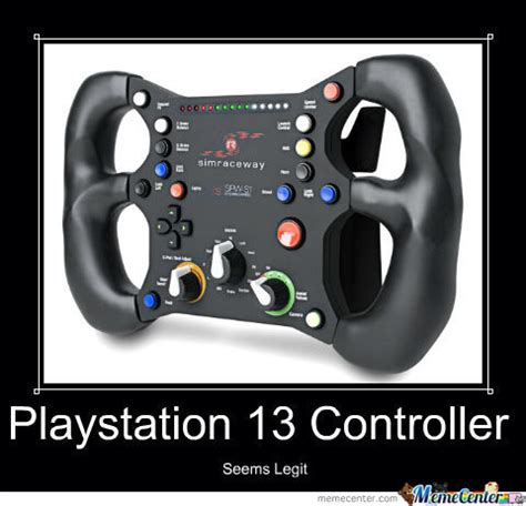 the latest playstation: ps13 controller. orange bananas