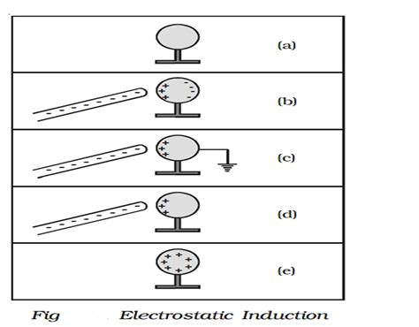 electrostatic induction study material lecturing notes assignment reference wiki description