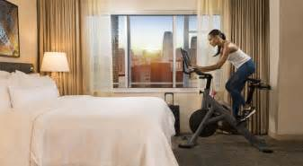 hotels get creative to help guests stay fit while traveling