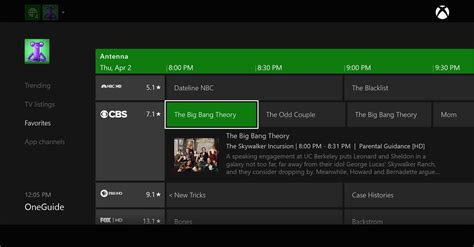 one guide free the air tv channel guide options the