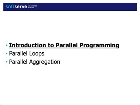 parallel pattern library task parallel library data parallelism patterns