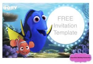 Finding Nemo Invitations Template finding dory invitations ideas drevio invitations design