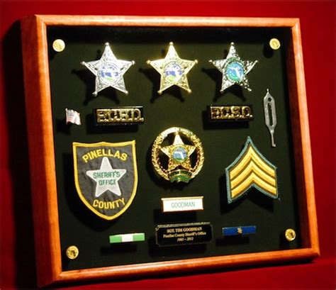 law enforcement shadow box gallery shadowboxusa com
