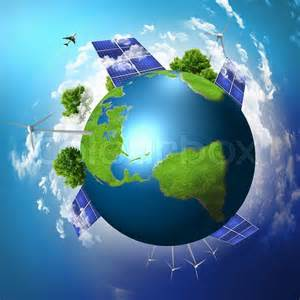 solar light suppliers green planet earth with solar energy batteries installed