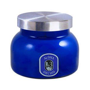 Aspen Bay Blue Candle Volcano by Aspen Bay Jar Volcano Candle 20 Ounce Blue Home