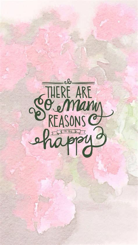 iphone wallpaper quote pink are background be happy inspirational iphone many