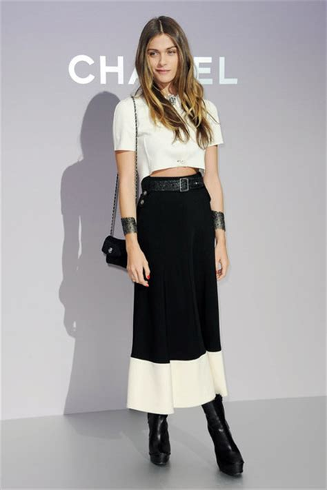 Sv Elisa Dress rising style elisa sednaoui the front row view