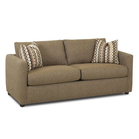 jacobs casual queen sleeper sofa  klaussner wolf furniture