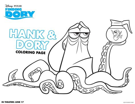 Finding For Free Finding Dory Coloring Sheets Highlights Along The Way