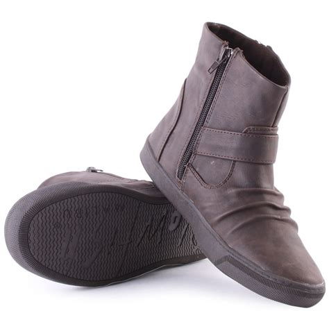 blowfish pymm womens ankle boots in brown