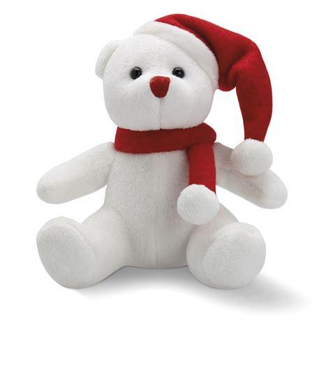 osito de peluche con regalo dibujos de navidad osito blanco de peluche navide 241 o regalo de empresa para