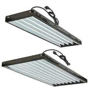 5 foot fluorescent light fixtures ultragrow 4 ft 8 l t5 fluorescent fixture w 8 bulbs