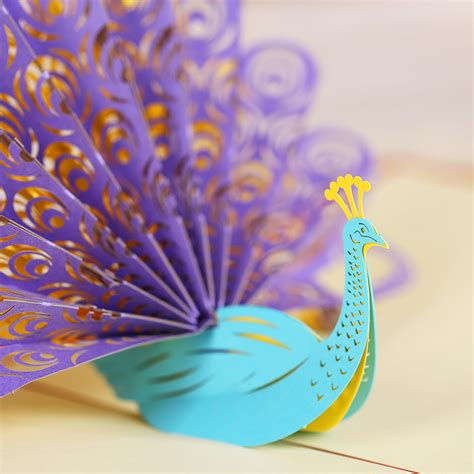 How To Make A Paper Peacock - peacock paper