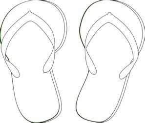 flip flop template flip flops clip at clker vector clip