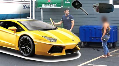 Lamborghini Gold Digger Prank Lambo Gold Digger Prank Flyheight