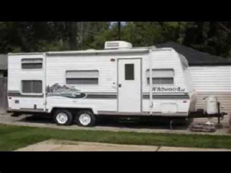 used 2005 forest river rv wildwood le 31qbss le travel 2005 forest river wildwood 22bh travel trailer in westland