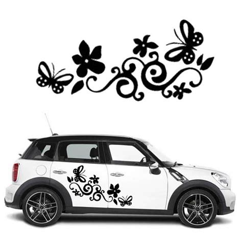 Cars Sticker Decals by Flower Decals For Cars Www Pixshark Images