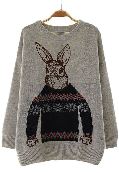 rabbit sweaters and bunnies on