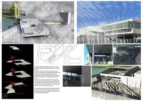 design lop kecil perpustakaan pusat universitas entry for design