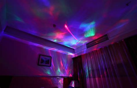 light show for bedroom with mk soaiy sleep sound machine night light projector