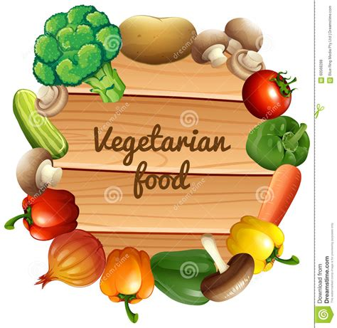 border design with fresh vegetables stock vector image