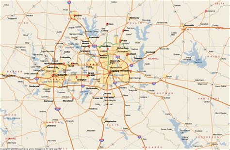maps dallas texas dallas metro map travelsfinders