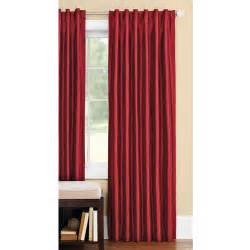 Better Homes Curtains Better Homes And Gardens Thermal Faux Silk Back Tab Window Curtain Panel Walmart