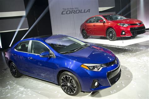 2014 Toyota Corolla Sport Mode Pics 2014 Toyota Corolla Launched In The Us